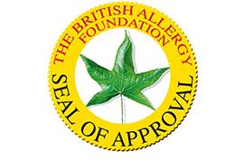 amicor pure certificazione anallergico british allergy foundation MYREST