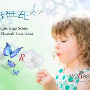 memory breeze, schiuma eccezionalmente traspirante morbida e soffice