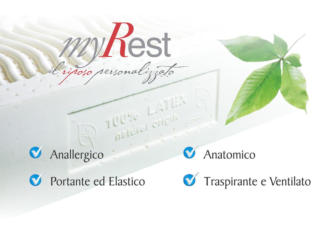 Materassi In Lattice Treviso.Materassi In Lattice Naturale Myrest Materassi Treviso